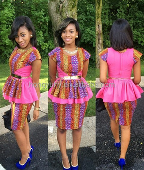 Ch157 Oem Factory African Clothing Two Pieces Skirt Set For Women Beautiful Ankara Skirt And Blouse Style Dress Wholesale Buy Skirt And Blouse Sets