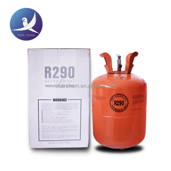 Refrigerant gas R290 gas,purity 99.0% min