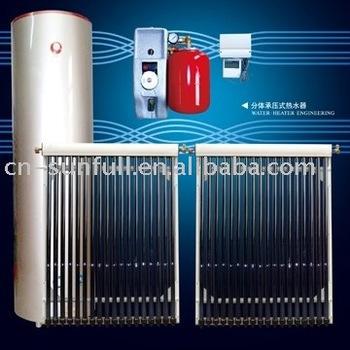 250l Split Pressurized Solar Water Heater With Copper Coil