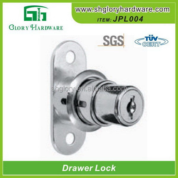 zinc alloy office desk cylinder lock