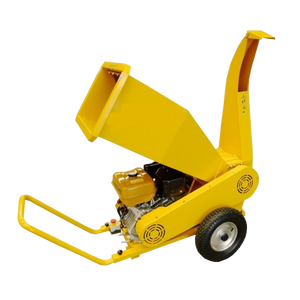 High output tree cutting crusher machine