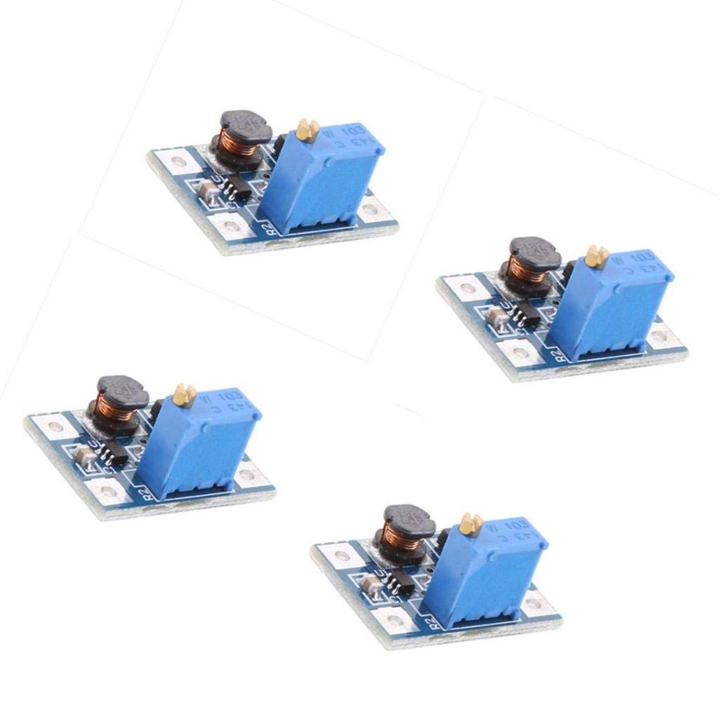 Cheap Dc Boost Converter Circuit Find Stepupconvertercircuitjpg Get Quotations Baosity Pack Of 4 Step Up Module Adjustable Static Power Supply