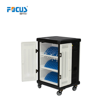 Focus Y836D Manufacture Charging Cabinet/Cart/Trolley For Laptop/Tablet with Led screen