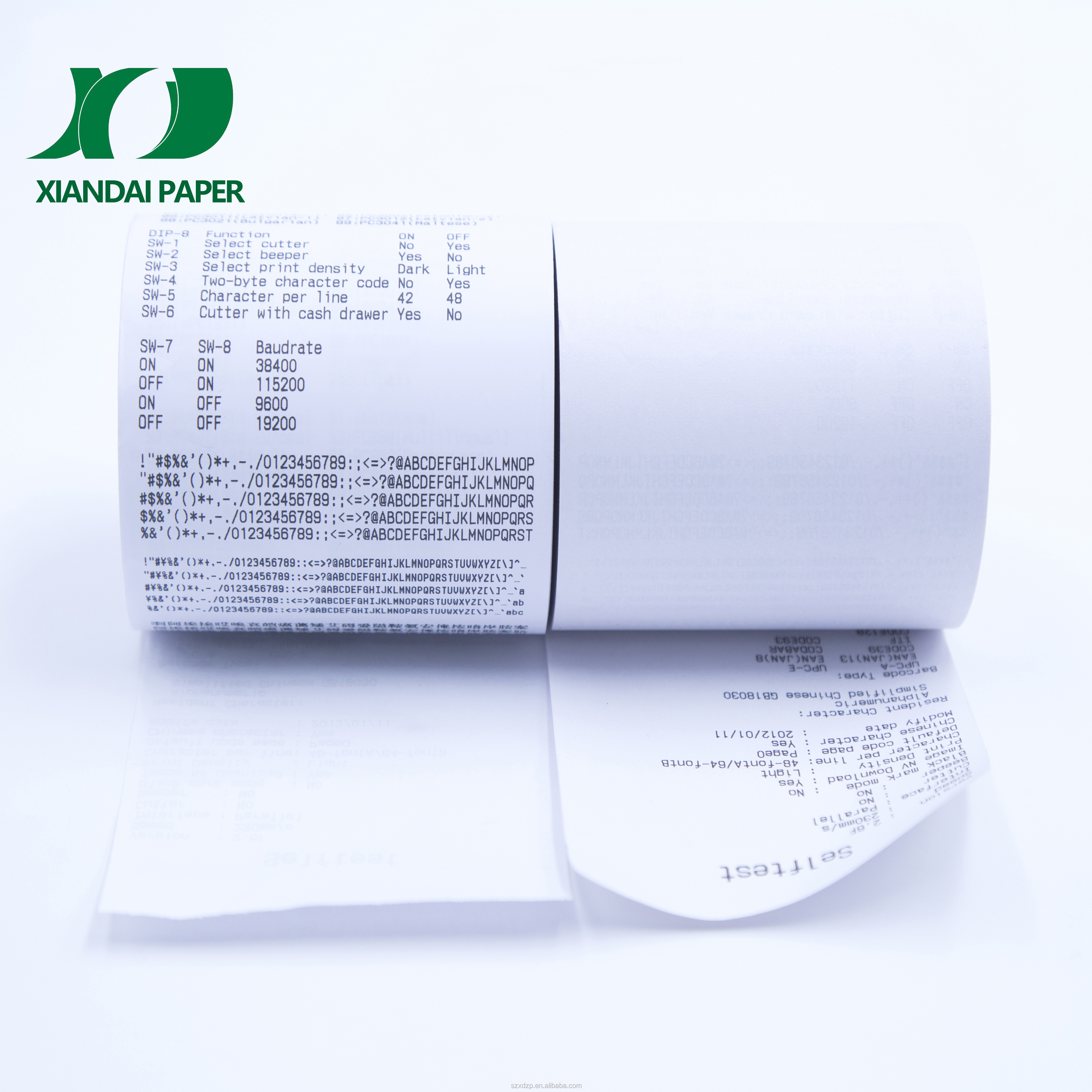 80mmx80mm cash register Thermo paper jumbo rolls 58gsm