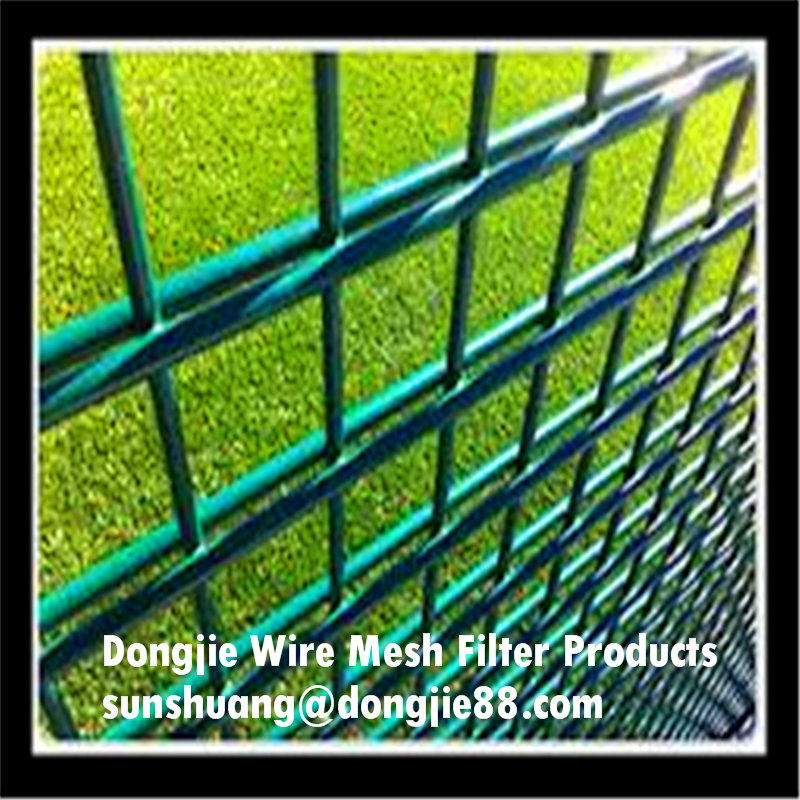 galvanized steel wire 868 fence net /double wire mesh fence