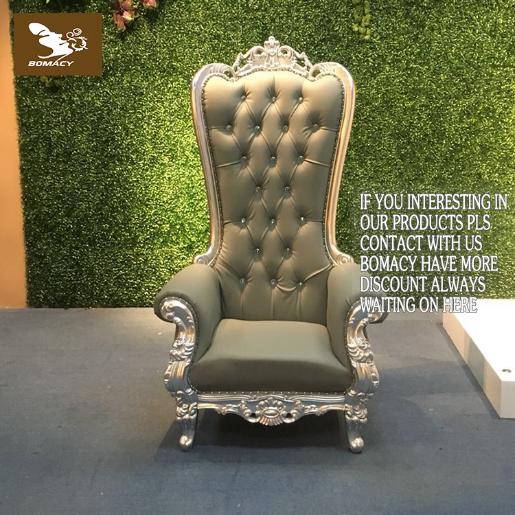 High Back King Throne Queen Pedicure Chairs Use for Planning Events