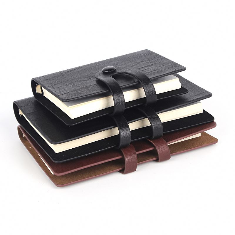 Top selling China sale superior quality functional leather pu notebook