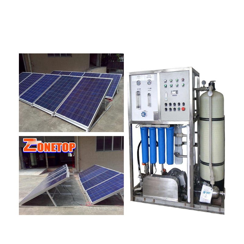 Gold Supplier Solar Sea Water Filter /Solar Seawater Reverse Osmosis Plant