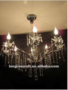 Wholesale Elegant Crystal Chandelier Candelabras Weddings with 8 Candles