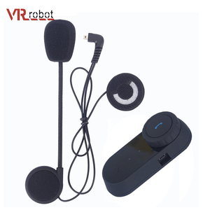 T-COMVB hands free motorcycle BT helmet intercom with stereo headset