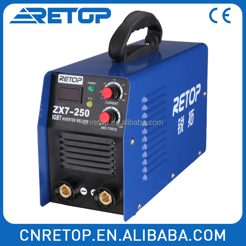 Circuit protect MMA 180I arc welding machine price dc igbt inverter