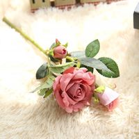 Hot sale factory price new design artificial rose dried flowers .