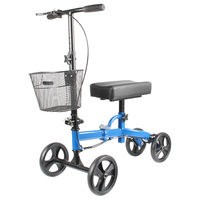 cheap price electric scooter folded safety equipment knee walker Crutches substitute medical knee scooter