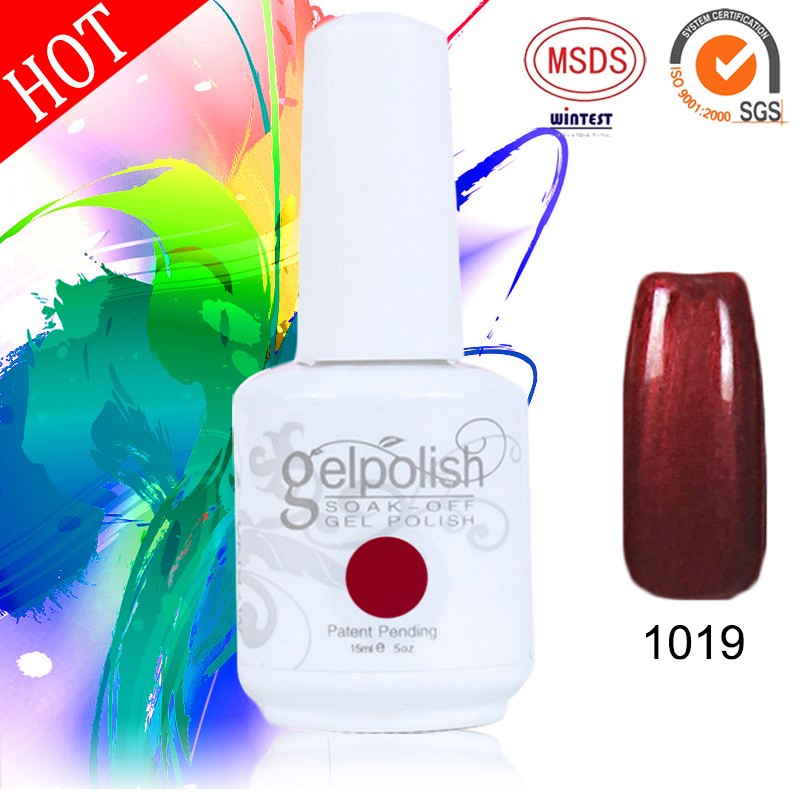 High Quality Gelpolish Soak Off Color Nail Uv Gel Polish
