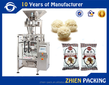 Low cost coconut slices, coconut floss packaging machine