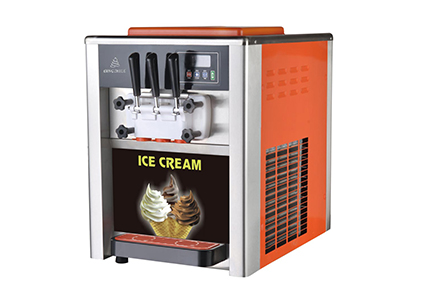 Big output 2015 newest soft ice cream maker for supermarket/traditional ice cream freezer
