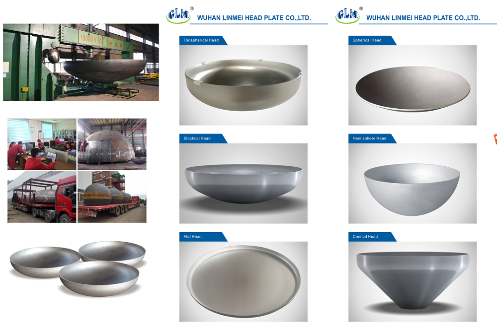 GLM Stainless steel 304 half ball 36 hollow steel ball metal half sphere