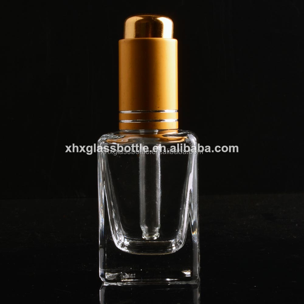 Empty Glass dropper 30 Ml 10Ml Square Essential Oil Bottles