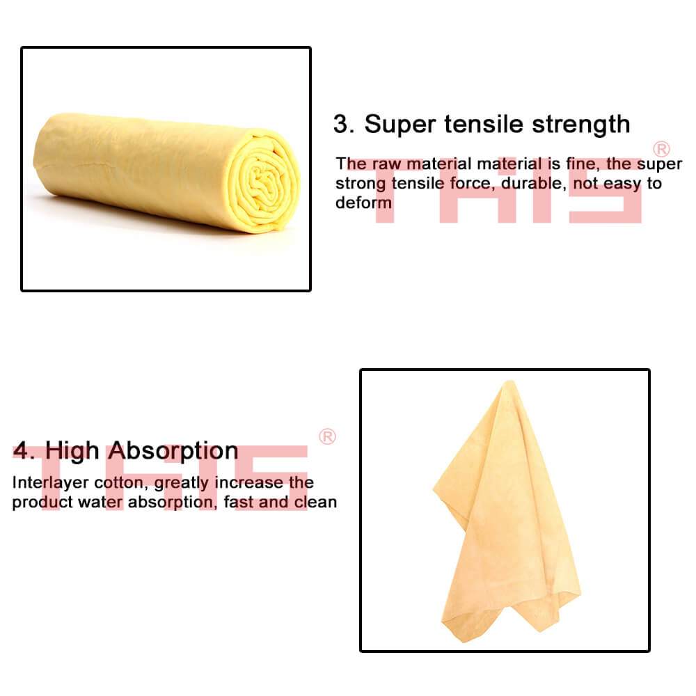 Microfiber Cleaning Towel for Wash Auto Dust Care Windshield Shine