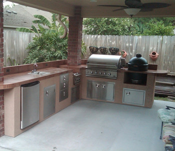 Good Quality Outdoor Stainless Steel Kitchen Cabinets Price For