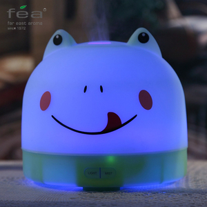 Cute Frog Color Changing 240V 13W Fea Aroma Diffuser Humidifier Wholesale / Essential Oil Difusor De Aromas