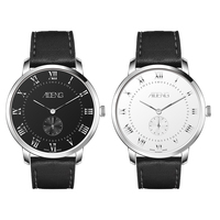 New Arrival 5 Atm Water Resistant Stainless Steel Sapphire Crystal Glass Watch