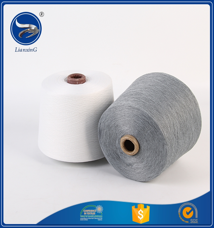 China manufacturer types of poly cotton cors spun yarn