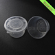 Round Plastic Bowls 33oz Disposable Microwave Plastic Hot Soup Bowl With Lid