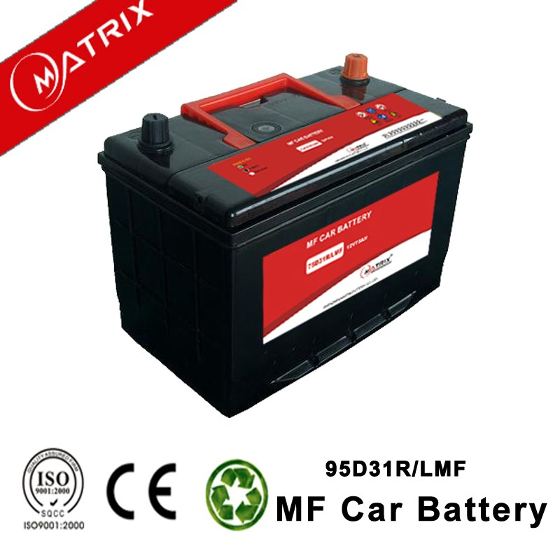 n80 12V 80AH auto lead acid mf starting generator battery for car