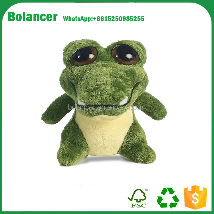 Hot sales special gift stuffed plush forest animal crocodile soft toy