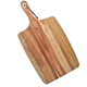 Safety wooden pizza serving board cheese cutting board with handle