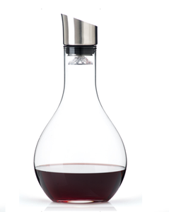 wholesale High Quality With Stainless Steel Stopper Wine Glass Decanter