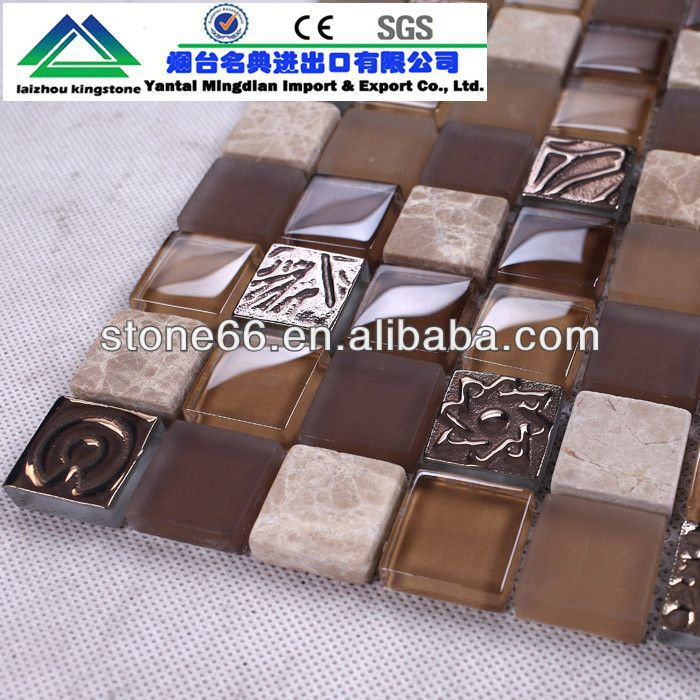 CN hotsale stained glass mosaic panel