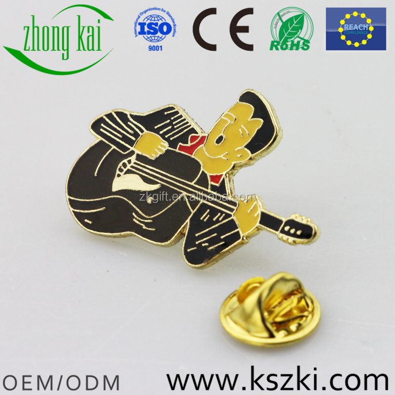 Chinese manufactories offer custom high quality metal badge lapel pin, can be designed