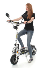 EEC Certification 3 wheel electric scooter picture for adult