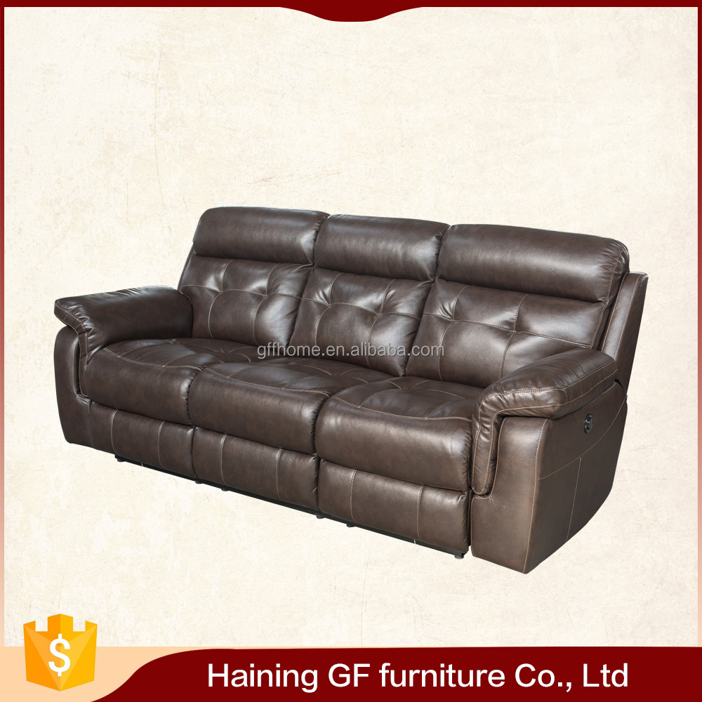 give you years of enjoyment antique old leather ages reclining sofa