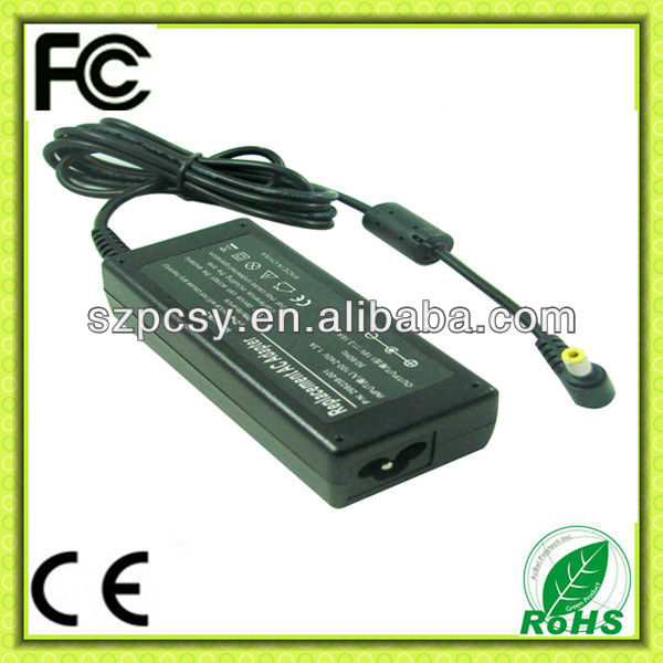 new products for 2013 for Benq Acer Gateway HP laptop power adapter 19V 3.42A 65W