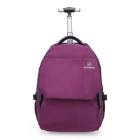 new arrival trolley travel backpacks with wheels travel luggage large capacity bag