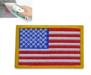 American Flag USA Flag iron on or sew on Patch