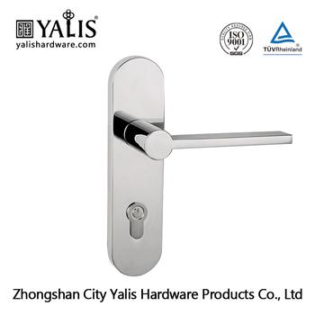 Zamak Italian Hotel Lock Handle Locks With Euro Profile