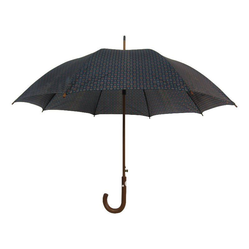 Xinda fancy design promotional umbrella general straight designer rain umbrella with wooden shaft