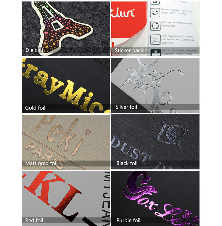 custom products labels printing hair extensions hang tags for hair