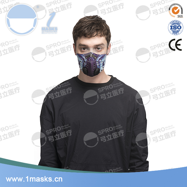 Super quality custom neoprene anti pollution dust face mask for running