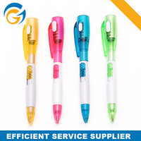 Promotional Fancy Led Torch Lights Ball Pen
