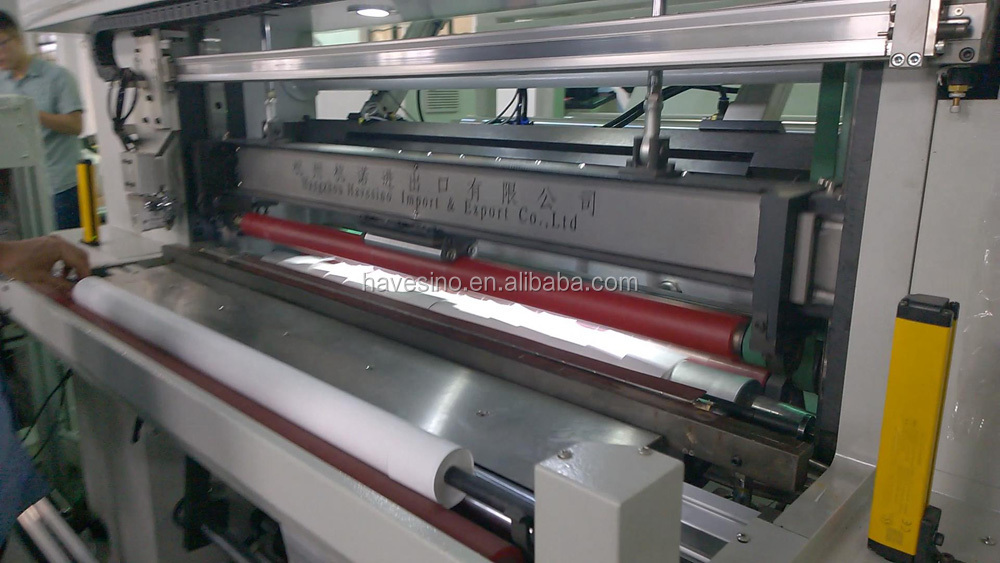 automatic slitter rewinder for thermal paper