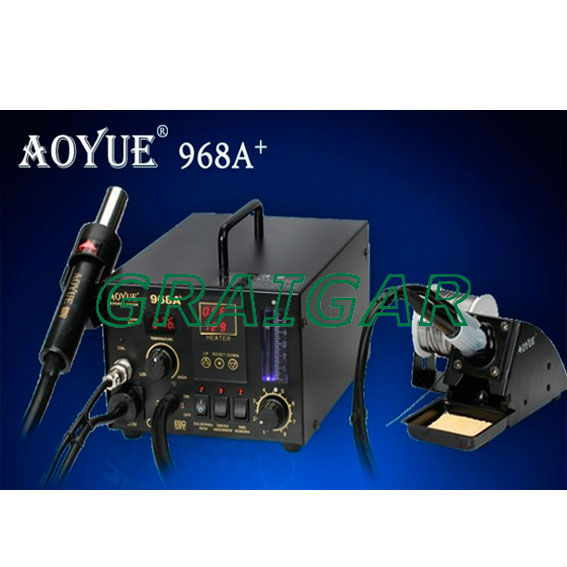 HOT sale! Aoyue 968A+ AOYUE 968A Soldering Station Updated From(Factory price Quality Assurance)