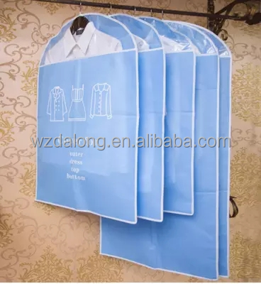 non woven garment bag with free lovely non woven die cut bag, pink ultrasonic non woven bag for promotion