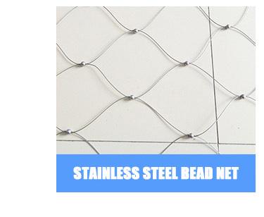Toptan Özelleştirilmiş Güzel Görünüm dekorasyon paslanmaz çelik tel örgü