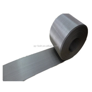 304 Reserved dutch 180/18 260/40 mesh stainless steel wire mesh belt