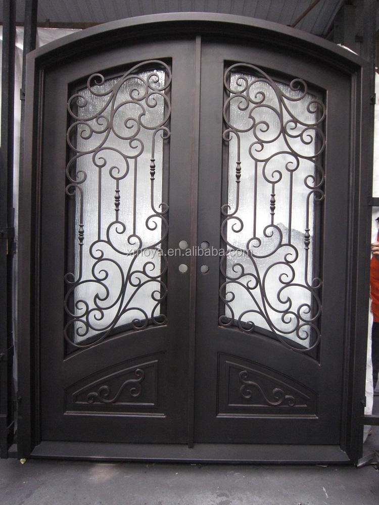 Venta al por mayor puerta principal doble hoja compre - Puertas de aluminio doble hoja ...